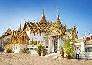 Thailand - Bangkok, Grand Palace, Dusit Maha Prasat-Throne Hall