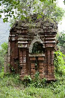 Temple ruins of My Son, UNESCO World Heritage Site, Vietnam, Southeast Asia, Asia