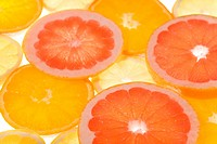 Detail of orange, grapfruit and lemon slices