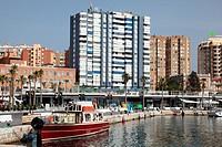 Pier One, Malaga, Andalucia, Spain