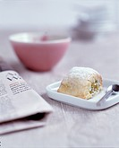Pastry and Newspaper