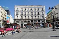 Plaza Puerta del Sol, Madrid, Spain, Europe, PublicGround