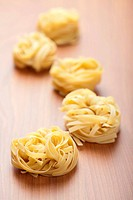 raw pasta tagliatelle