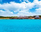 Formentera Es Calo San Agusti houses sea view