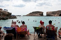 people near sea at malta