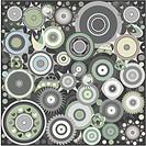 seamless geometric patterns background. Vector