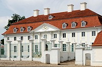 Meseberg Castle - Guesthouse of the German Federal government near Berlin   Caution: For the editorial use only  Not for advertising or other commerci...