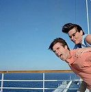 Couple Playing Around on Cruise Ship