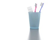 Accessories to individual hygiene: toothbrushes an