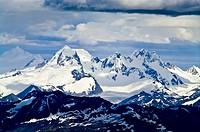 Ushuaia, Martial Mountains, Fuegian Andes, Tierra del Fuego Archipelago, Straits of Magellan, Tierra del Fuego Province, Patagonia, Argentina.