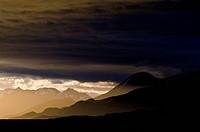 Ushuaia, Martial Mountains, Fuegian Andes, Ushuaia Bay, The Beagle Channel, Tierra del Fuego Archipelago, Straits of Magellan, Tierra del Fuego Provin...