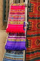 Decorative wares for sale at a souvenir tourist shop, Santa Fe, New Mexico, USA