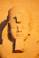 Ramses II statue at Abu Simbel