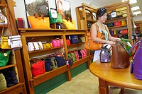 Florida, Vero Beach, Vero Beach Outlets, shopping, business, retail display, for sale, Dooney & and Burke, women´s, handbags, pocketbooks, fashion,