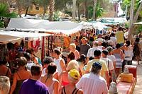 Spain , balearic island , Ibiza , hippie market