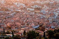 The city of Hyères, Var, 83, French Riviera, PACA.