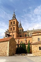 Astorga Spain  Cathedral of Santa Maria de Astorga