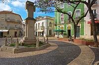 Luis de Camoes Square, Lagos, Algarve, Portugal, Europe