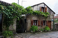 Combarro Street, Council Poio, Rias Bajas, Pontevedra, Galicia, Spain, Europe