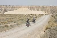 Natural Park and desert of Bardenas Reales, Navarra, Spain