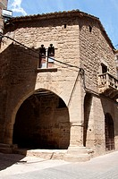 Old House of Justice, Calaceite, Region of river Matarraña, Teruel, Aragon Comunity, Spain