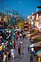Chile,Iquique, Baquedano Pedestrian Crossing