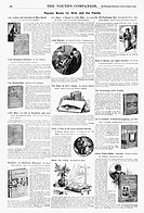 American magazine advertisements for ´Popular Books for Girls and the Family,´ including ´Uncle Tom´s Cabin´ by Harriet Beecher Stowe, and ´Jo´s Boys´...