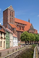 St. Nikolai Church, Wismar, Mecklenburg-Western Pomerania, Germany, Europe