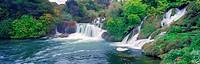 Krk falls Croatia