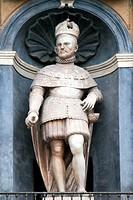Figure on the Quattro Canti
