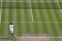 01 08 2012 Olympic Games, London, England, Tennis, BENNETEAU