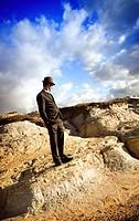 Man in Landscape