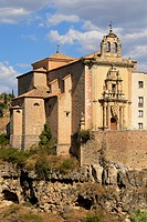 Iglesia De San Pablo 16Th Century Now A Musuem Attached To The Parador De Cuenca, Cuenca Castile La Mancha Spain