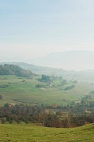 Tranquil rural scene