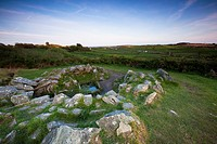 Drombeg Stone Circle kitchen  County Cork, Ireland