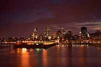 Montreal´s Night Skyline, Montreal Quebec Canada