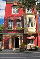 Colourful Small Hotel, Quebec City Quebec Canada