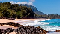 Lumahai beach in Kauai