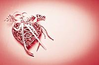 Valentine_Silver Heart II splitted tone