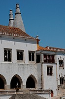 Portugal, the historical National Palace in Sintra