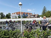 The harbour  Zingst Peninsula is the easternmost portion between the city of Rostock and town of Stralsund on the southern shore of the Baltic Sea  Me...