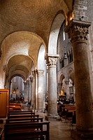 Italy, Apulia, Bitonto, the cathedral indoor
