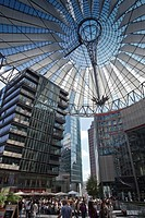 Germany, Berlin, Potsdamer Platz, Sony center