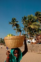 India, Goa, Anjuna Beach