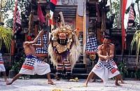 Barong Dance  Batubulan  Bali  Indonesia