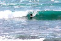 surfer on gran canaria