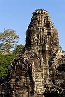 ancestral, shrine, Angkor, Angkor Thom, Angkor Wat, architecture, Asia, Bayon, Bayon temple, Buddhist, Cambodia, culture, faces, Hindu, history, Indoc...