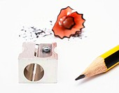 Pencil and Sharpener _ Bleistift und Anspitzer