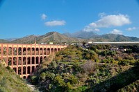 Old aqueduct in Nerja