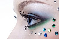 bodyart of eye zone